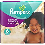 Pampers Size 6 Active Fit Nappies Monthly Pack - Pack of 120