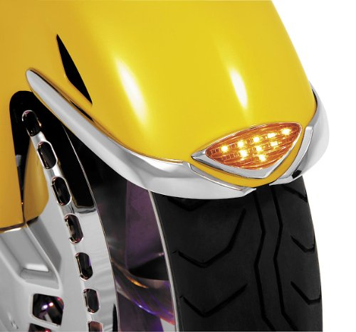 Show Chrome Accessories (52-651) LED Front Fender Accent