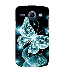 printtech Sparkling Butterfly Back Case Cover for Samsung Galaxy J5 / Samsung Galaxy J5 J500F
