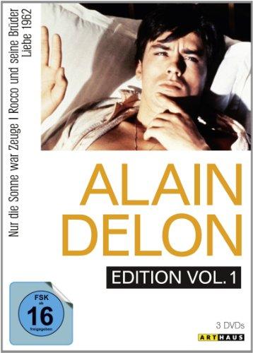 Alain Delon Edition - Vol. 1 (Nur die Sonne war Zeuge / Rocco und seine Brüder / Liebe 1962) [3 DVDs]