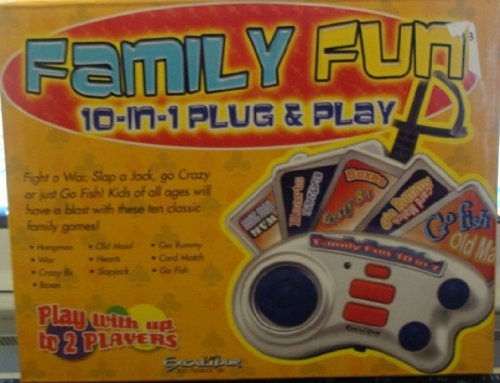 Family Fun 10-in-1 Plug & Play - 1
