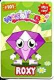 Moshi Monsters Series 2 Trading Card With Secret Code [Unused] #101 Roxy