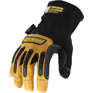 Ironclad Ranchworx Gloves RWG-03-M, Medium
