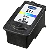 Canon CL511 Remanufactured Tri-colour Ink Cartridge for use with Canon Pixma MX320, MX330, MX340, MX350, MX360, MX410 and MX420 Printers by Ink Trader