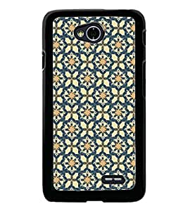PrintDhaba Pattern D-5355 Back Case Cover for LG L90 (Multi-Coloured)