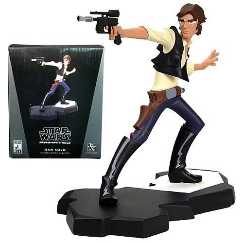 Buy Star Wars Animated Han Solo Maquette, Not Mint