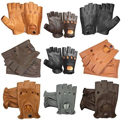 sin-dedos-moto-ciclismo-guantes-para-conducir-medio-dedo-309-312-313-314-multicolor-313-gris-elefant