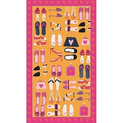 Tres Chic Shoes Canvas Art front-834680
