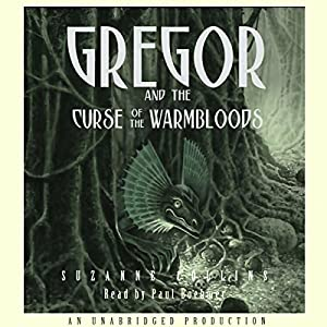 Gregor and the Curse of the Warmbloods Audiobook