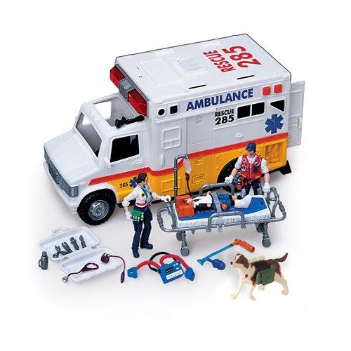 Electronic Ambulance W/ Rescue Team