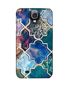 Pick Pattern Back Cover for Samsung I9500 Galaxy S4 (MATTE)