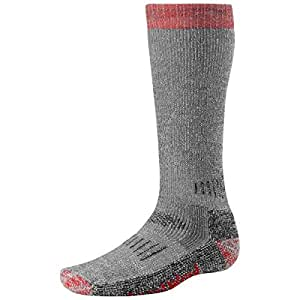 Smartwool Extra Heavy 10TC Hunting Socks (Gray/Red) (Men's XL)