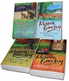 Maeve Binchy - 4 Book Collection Set Pack - RRP: £27.96 (Nights of Rain and Stars, Whitethorn Woods, The Copper Beech, Evening Class) Maeve Binchy