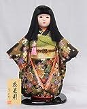 【市松人形】【翠仙作】【日本の人形】花茉莉【市松人形】o1374c【創作市松13号】ケース付き