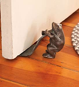 Amazon Com Decorative Cast Iron Animal Doorstops In