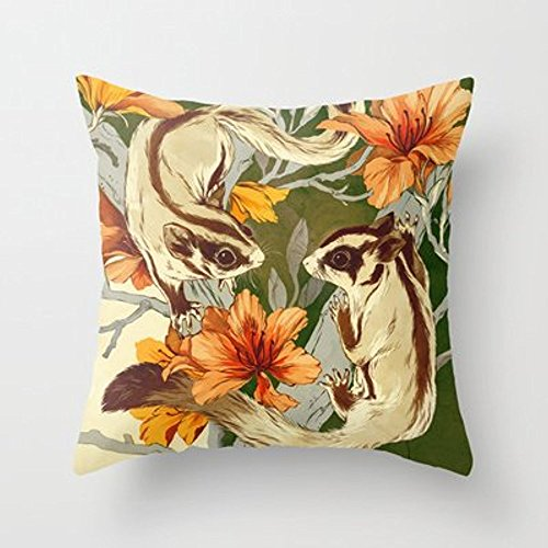 My Honey Pillow Sugar Gliders Throw Pillow By Teagan Whitefor Your Home