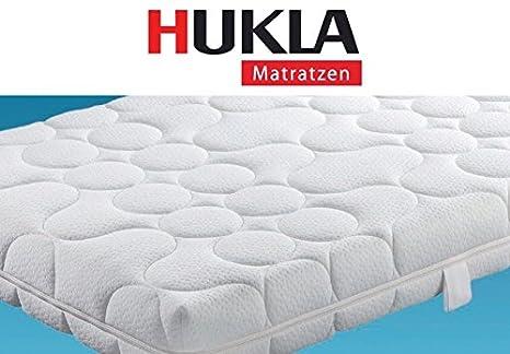 Hukla Colour Pro 7-Zonen-Waterpur®-Kaltschaum-Matratze mit Klimanoppen, Größen Matratzen:160 x 220 cm;Härtegrad Matratzen:F2