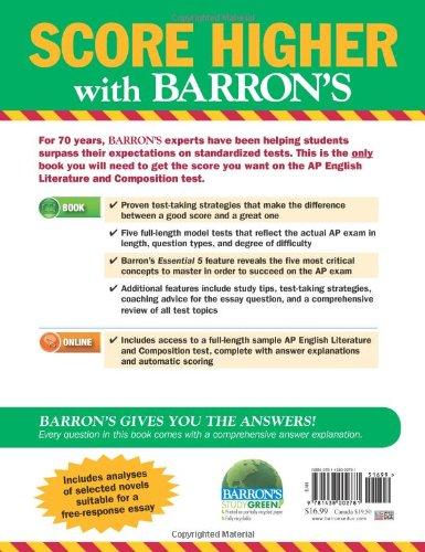 AP English Literature and Composition (Barron's Ap English Literture and Composition)