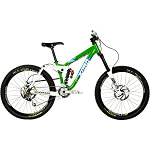 Kona Stinky Deluxe - SLX/XT Build Gloss Lime Green/Gloss White, 15