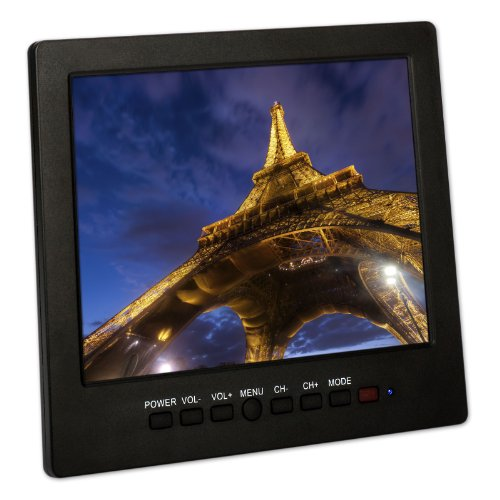 "Generic 8"" Inch Tft Lcd 4:3 Color Video Portable Monitor Screen For Pc Cctv Security"