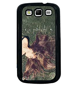 Printvisa Relaxing Girl With A Perfect Day Quote Back Case Cover for Samsung Galaxy S3 Neo::Samsung Galaxy S3 Neo i9300i