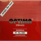 [OPTIMA]オプティマ マンドラ弦 レッド セット弦 8本入り