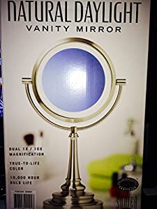 Sunter Lighted Vanity Mirror Reviews : Amazon.com - Natural Daylight Lighted Vanity Mirror - Vanity Mirror With Lights