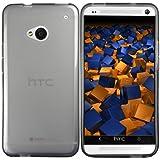 """mumbi TPU Schutzh�lle HTC One H�lle transparent schwarz (NICHT HTC One M8)von """"mumbi"""""""