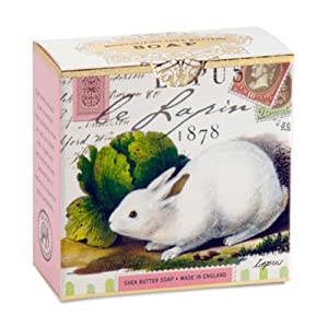 Michel Design Works Bunny Little Shea Butter Soap, 3.5 Ounce (Pack of 2)