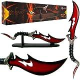 Trademark Fantasy Master Red fang Viper Dagger, 21.5-Inch