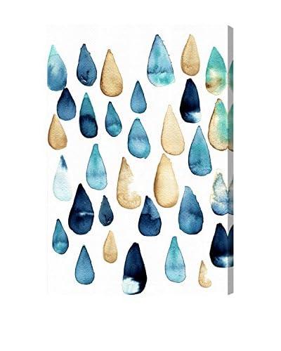 Oliver Gal 'Rain Drops Are Fallin' Canvas Art