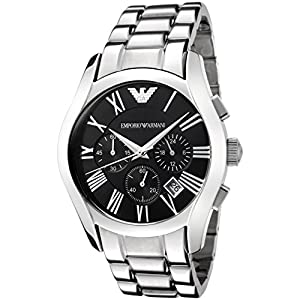 Emporio Armani Gents Chronograph Stainless Steel Bracelet Watch