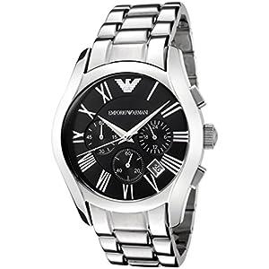Emporio Armani Men's AR0673 Stainless Steel Chronograph Watch