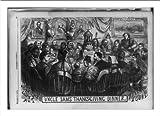 Historic Print (M): Uncle Sam's Thanksgiving dinner