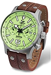 Vostok-Europe - Expedition North Pole 1 - Light Green Full Lume - 6S21-5957241