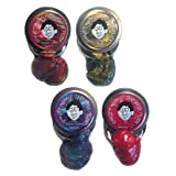 Crazy Aarons Thinking Putty Super Illusions Mini Tin Set (3) With Free Electric Ruby