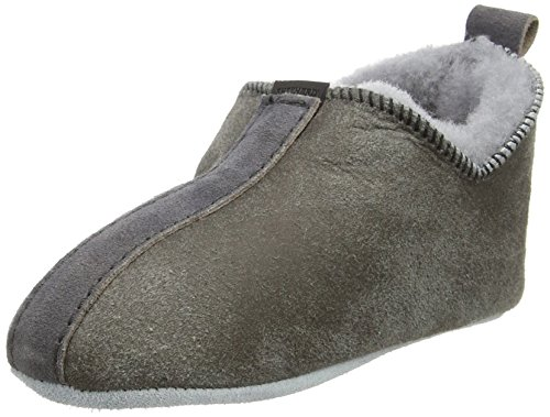 Shepherd Viared Slipper, Pantofole Unisex Per Bambini, Grigio (Antique Grey 21), 34