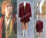 The Hobbit Bilbo Baggins Outfit Costume Female Size M