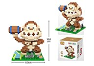 Loz 9619 Pixel Wars King Kong 480Pcs…