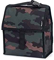PackIt Freezable Lunch Bag with Zip Closure, Classic Camo by PackIt LLC