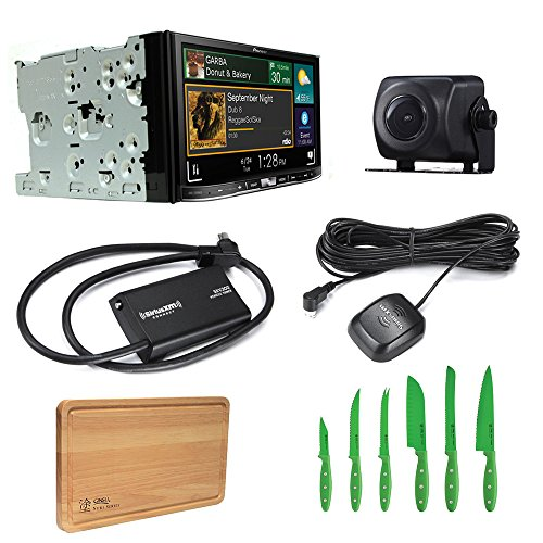 Click to buy Pioneer Car Stereo AVIC-7200NEX Bluetooth DVD/CD with Pioneer ND-BC8 Universal Rear-View Camera, SiriusXM SXV300V1 Tuner and Free Free Ginsu Nuri Cutlery Set - From only $899.99