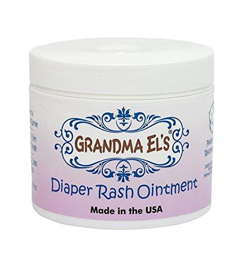 Grandma El's Diaper Rash Remedy & Prevention Baby Ointment Jar, 3.75-Ounce