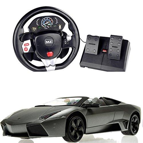 Lamborghini MZ Lamborghini Pedal Control  Steering Wheel Car 2027T
