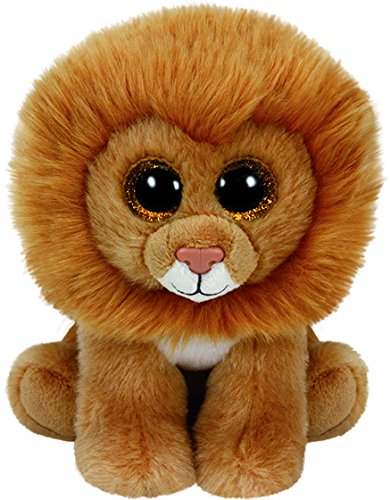 Ty Beanies LOUIE - Tan Lion Medium - 1