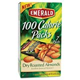 100 Calorie Pack Dry Roasted Almonds .63 oz Packs 7 Packs/Box