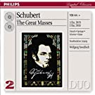 Coffret 2 CD Classique : Schubert - Les Grandes messes