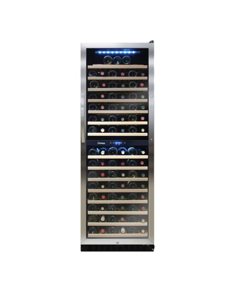 Vinotemp Cocktail Storing Accessories 155-Bottle Dual Zone Wine Cooler