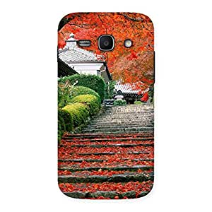 Impressive Stairs Garden Multicolor Back Case Cover for Galaxy Ace 3