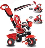 Smart Trike Deluxe (Red/ Black)
