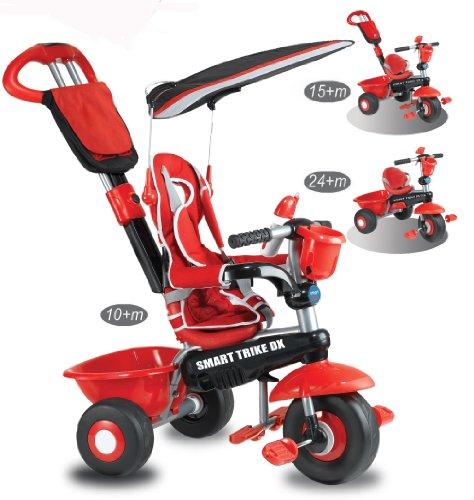 Smart Trike Deluxe 3 In 1 Red Black